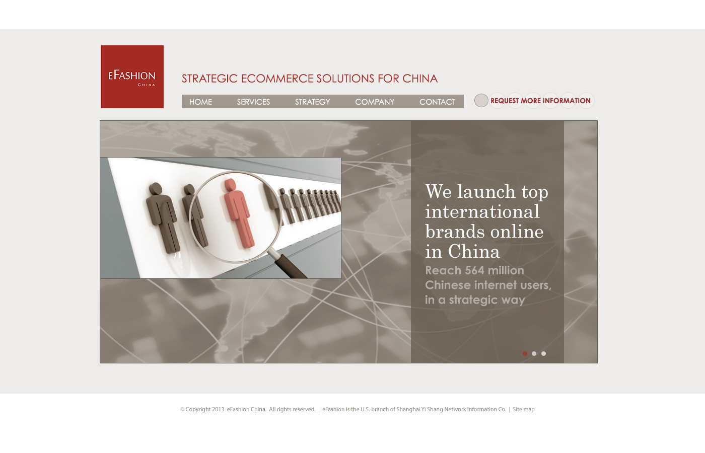 eFashion China website